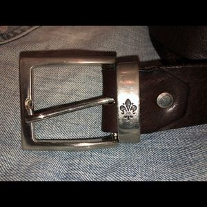 Other - Men's Leather Belt